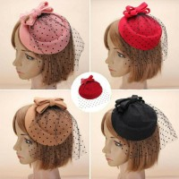 Topi Fascinators Fashion Wanita ala Princess Headpiece Hairpiece