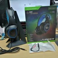 NYK HS-M01 JUGGER Gaming Headset Free Spliter
