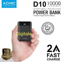 Powerbank Acmic D10 10000 Mini Powerbank