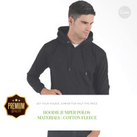 XXL - Jaket hoodie jumper polos cotton fleece