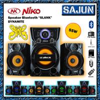 NIKO DYNAMITE SLANK 55W Bluetooth Speaker Aktif 2.1 Multimedia