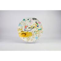 (2pcs) Zen Art Jakarta Piring Designer Iabadiou Piko - 27 cm Giftbox