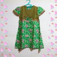 Dress batik anak perempuan/second/bekas/preloved