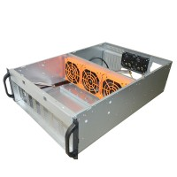 Terlaris Bitcoin Mining Rig Frame 6/8GPU Miner Case Mining Frame