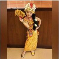 Pakaian Baju adat anak bali LENGKAP