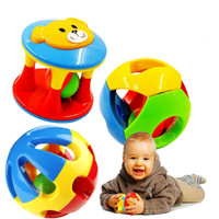 Set 3 pcs Bola Rattle Mainan Kerincingan Bayi
