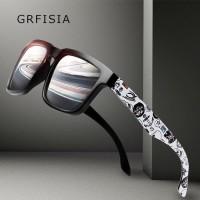 Original Grfisia Fashion Kacamata Pria Terpolarisasi HD Mengemudi