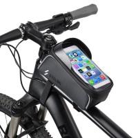 BIKIGHT Bike Bicycle Front Frame Tube Bag Waterproof Touch