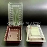 MIKA / TRAY BOX BROWNIES / KOTAK BOLU BROWNIS SEDANG ( M ) BSM 50 PCS