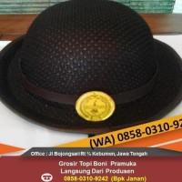 Unit Terbaru Termurah Topi Boni Pramuka Putri Smp Sma Rajut/Laken