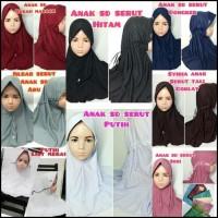 Unit Asli Jilbab Hijab Kerudung Syiria Rabbani Rabani Anak Sd Serut