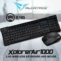 Keyboard Mouse ALCATROZ XPLORER AIR 1000 [WIRELESS]