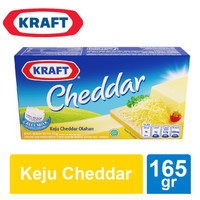 Keju Kraft Cheddar 165 gr