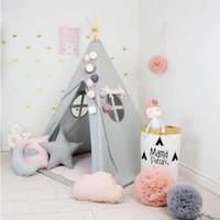 Tenda Teepee Tent Indian Anak Plus Matras - TPT 009