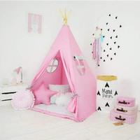 Tenda Teepee Tent Indian Anak Plus Matras - TPT 008