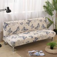 Cover SOFA BED Sarung SOFA BED stretch elastis KUPU-KUPU