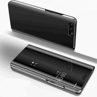 Xiaomi Redmi S2 - Flip Mirror Clear View Standing Auto Case