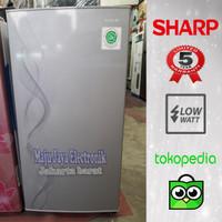 Kulkas 1 Pintu Sharp SJN 162D 133 L Low watt Garansi Resmi 5Th Defrost