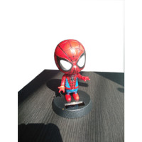 Boneka Hiasan Dashboard Mobil Boneka Kepala Goyang Avengers SPIDERMAN