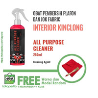 PAKET All Purpose Cleaner for Fabric and Leather (250 ml) + 1 pc Kuas