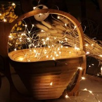 Lampu fairy natal peri 5 meter USB / LED/ hiasan kamar
