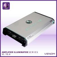 Power 4 Ch VENOM ILLUMINATOR VL 70.4 AMPLIFIER 4 CHANNEL VENOM SSM