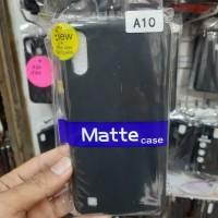 SLIM BLACK MATTE CASE SAMSUNG A10 SLIM SILICONE MATTE SAMSUNG A 10