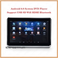 TV Headrest 10.1 Inchi ANDROID System 6.0. IPS - DVD PLAYER. HDMI. USB