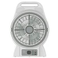 Krisbow Kipas Angin Dengan Lampu Darurat 30 cm / Emergency Box Fan 12
