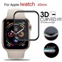 Premium Tempered Glass Apple Watch series 4 3D Curved Full Cover 40mm
