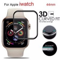 Premium Tempered Glass Apple Watch series 4 3D Curved Full Cover 44mm