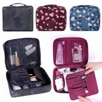 JBS Tas Travel Bag Travelling Cosmetic Organizer Monopoly Motif K143