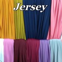 Kain Jersey Polos Eceran Meteran Murahh