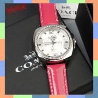 Jam Tangan Quartz Analog Strap Gelang Lilit Diameter 38MM untuk Wanita