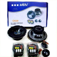Speaker Split ads C620 2 Way Component Speaker System Car Audio SQ
