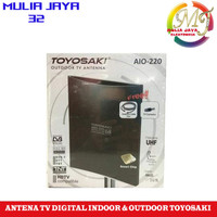 antena tv digital indoor dan out door toyosaki aio 220 terbaik dan ter