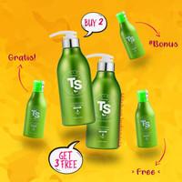 Premium TS Shampoo Korea - Untuk Rambut Rontok. BELI 2 GRATIS 3