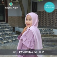 jilbab Pasmina gliter harga grosir supplier Jakarta