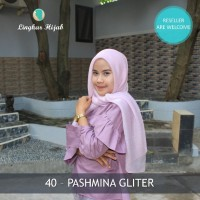 Jilbab Pashmina Gliter