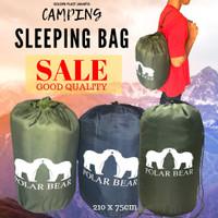 sleeping bag (kantong tidur)