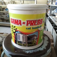 Cat Genteng Cat Tembok Berkualitas Gama Press 4kg