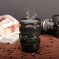 400mL Gelas Mug Teh Kopi Model Lensa Kamera SLR 24-105mm Food Grade PC