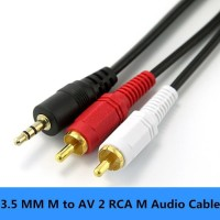Kabel 3.5Mm To Audio 2 Rca