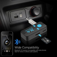 Bluetooth Car X6 Audio Handsfree Receiver AUX Support TF-Card
