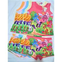 T937 Kaos Dalam Singlet Anak & Celana Dalam Anak Boxer My Little Pony