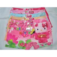 2138 Celana Dalam Anak Boxer Hello Kitty