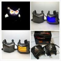 Lampu Sein LED Nmax / Lampu Sen Yamaha Nmax Running Sepasang Flowing