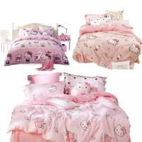 Seprei dan Bed Cover Katun Jepang Motif Anak / Katun Jepang Ori