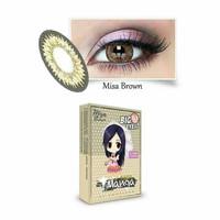 Shin Manga Misa Brown normal minus s/d -3.00 coklat 15.5 mm - Softlens