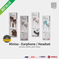 Miniso - Headphone / Earphone / Headset (We Bare Bears)